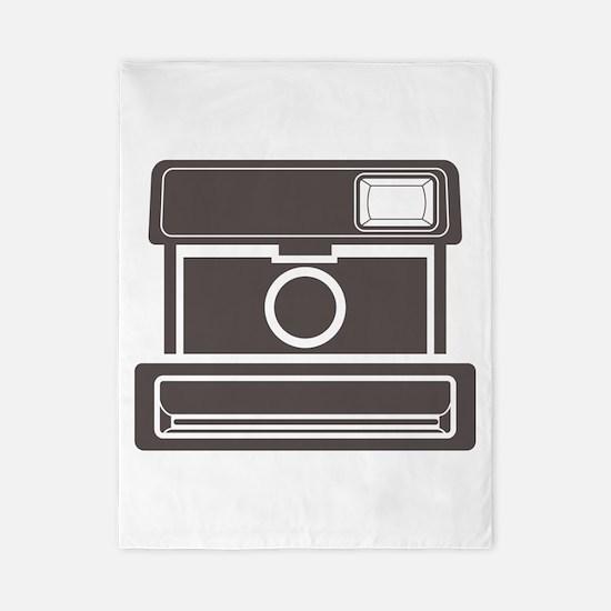 Vintage Instant Camera Twin Duvet