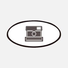 Vintage Instant Camera Patches