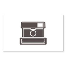 Vintage Instant Camera Decal