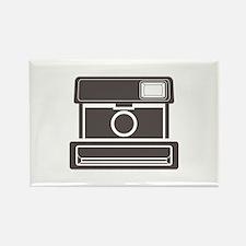 Vintage Instant Camera Rectangle Magnet