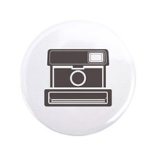 "Vintage Instant Camera 3.5"" Button"