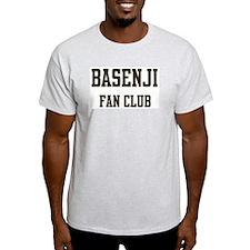 Basenji Fan Club Ash Grey T-Shirt