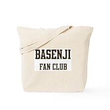 Basenji Fan Club Tote Bag
