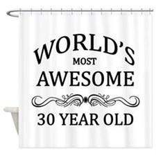 World's Most Awesome 30 Year Old Shower Curtain