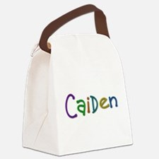 Caiden Play Clay Canvas Lunch Bag