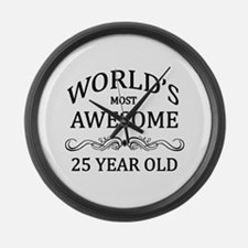 World's Most Awesome 25 Year Old Large Wall Clock
