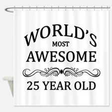 World's Most Awesome 25 Year Old Shower Curtain