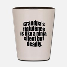 Grandpa's Flatulence Shot Glass
