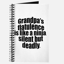 Grandpa's Flatulence Journal