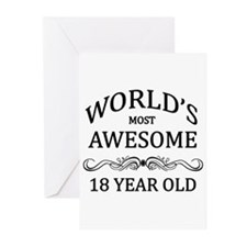 World's Most Awesome 18 Year Old Greeting Cards (P