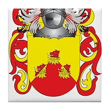 Becket-(Ireland) Coat of Arms Tile Coaster