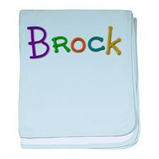 Brock Play Clay baby blanket