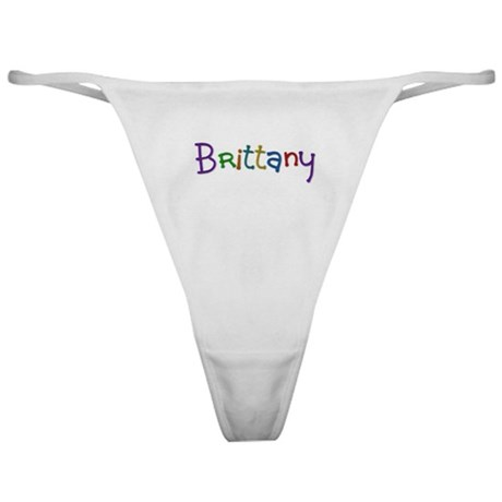 Brittany Play Clay Classic Thong