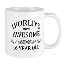 World's Most Awesome 16 Year Old Small Small Mug