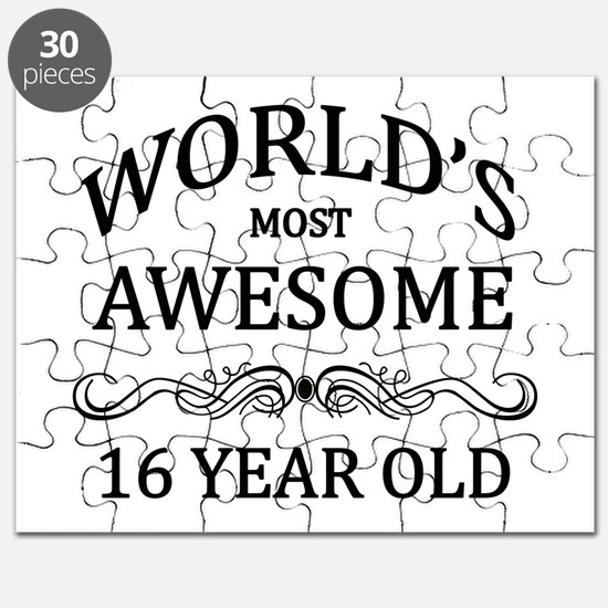 World's Most Awesome 16 Year Old Puzzle