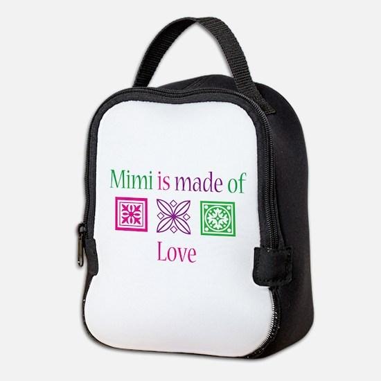Mimi is made of Love Neoprene Lunch Bag