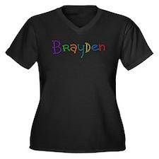 Brayden Play Clay Plus Size T-Shirt