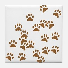 Catprints Tile Coaster