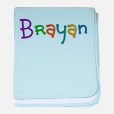Brayan Play Clay baby blanket
