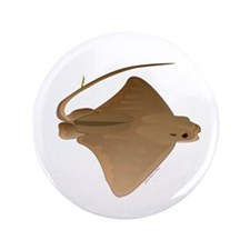 "cownose ray f 3.5"" Button"