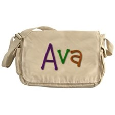 Ava Play Clay Messenger Bag