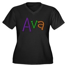 Ava Play Clay Plus Size T-Shirt