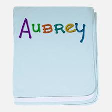 Aubrey Play Clay baby blanket