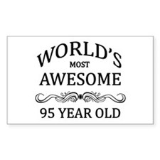 World's Most Awesome 95 Year Old Decal