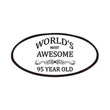 World's Most Awesome 95 Year Old Patches