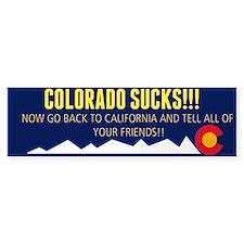 Colorado sucks! Bumper sticker Bumper Bumper Sticker