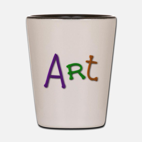 Art Play Clay Shot Glass