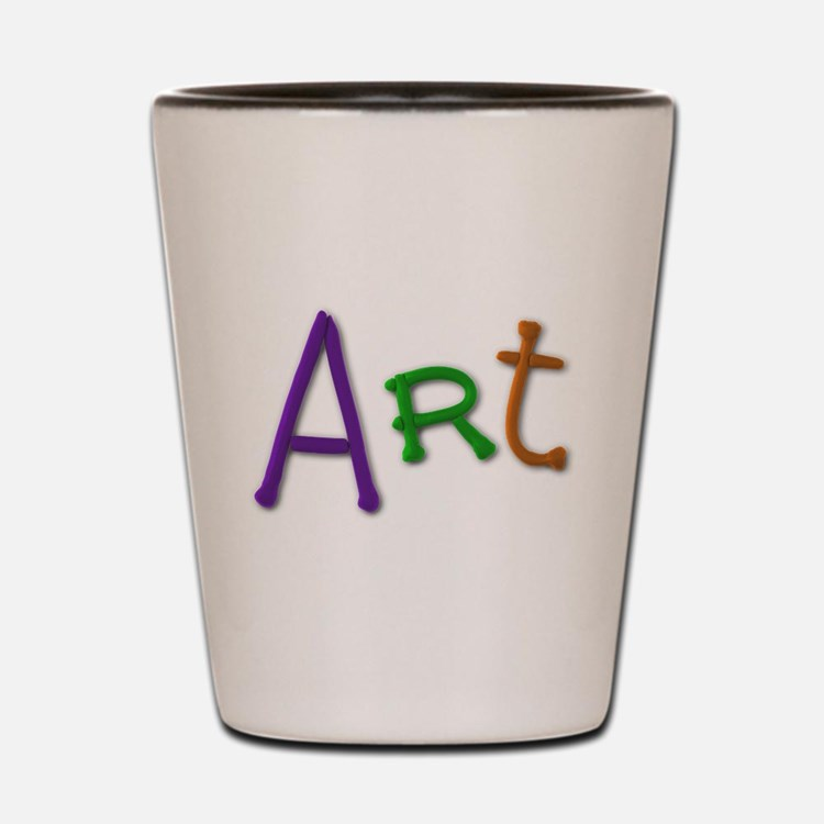 Art Play Clay Shot Glass