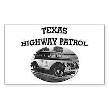 Texas Highway Patrol Decal