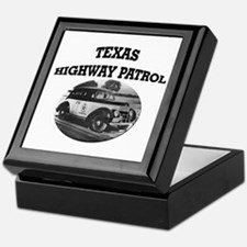 Texas Highway Patrol Keepsake Box