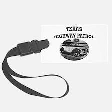 Texas Highway Patrol Luggage Tag