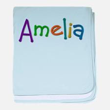 Amelia Play Clay baby blanket