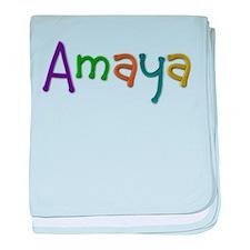 Amaya Play Clay baby blanket