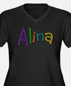Alina Play Clay Plus Size T-Shirt