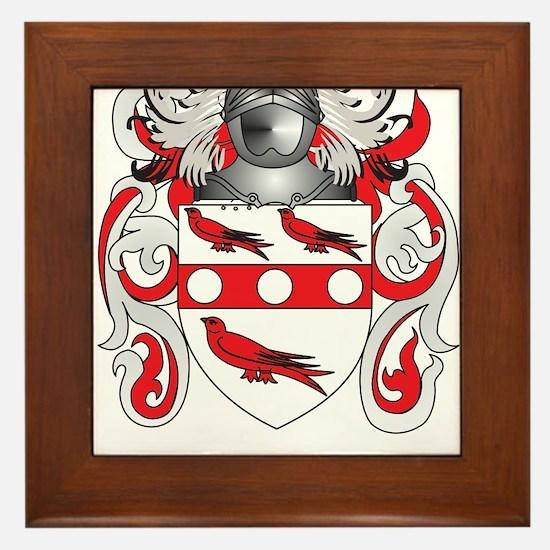 Begley Coat of Arms Framed Tile