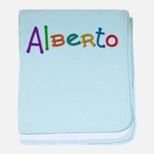 Alberto Play Clay baby blanket