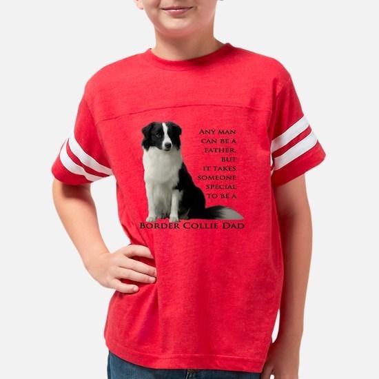 Border Collie Youth Football Shirt
