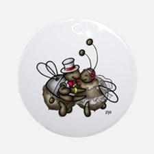 Dearly Beeloved Ornament (Round)