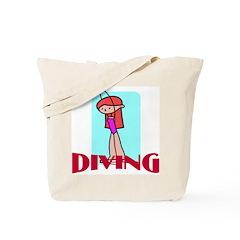 Diving Tote Bag