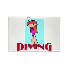 Diving Rectangle Magnet