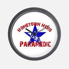 Hometown Hero Paramedic Wall Clock