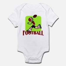 Football Infant Bodysuit