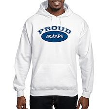 Proud Grampa (blue) Hoodie