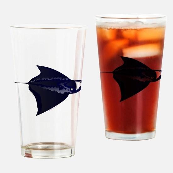 Manta Ray c Drinking Glass