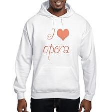 I Love Opera Hoodie