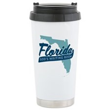 Florida Gods Waiting Room Travel Mug
